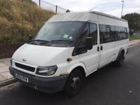 2003 ford transit jumbo minibus