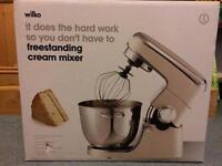 Wilko Freestanding Cream Mixer. Brand New Sealed