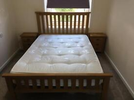 Double bed with matching bed side units and tallboy