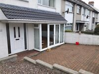End terrace 3 bed house in portrush. Available for Irish Open, Easter , Supercup NI