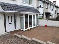 Portrush holiday home. End terrace 3 bed house. Available for Irish Open, Supercup NI, may and june