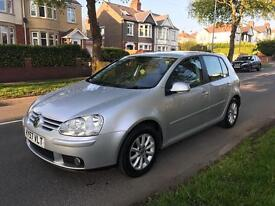 Vw golf 1.9 match, excellent condition, lots of extras, 2007,fsh, 2 keys, cam belt has been replaced