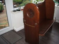 Victorian Pitch Pine Small Church Pew