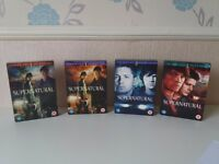 Supernatural DVD boxset's season 1,2 and 3