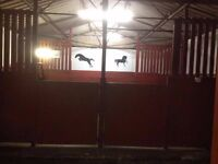 Stables & Grazing for horses/ponies. Livery. Equestrian