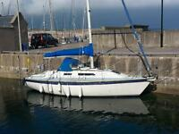 Yacht - Westerly Tempest 31 (Bilge Keel)