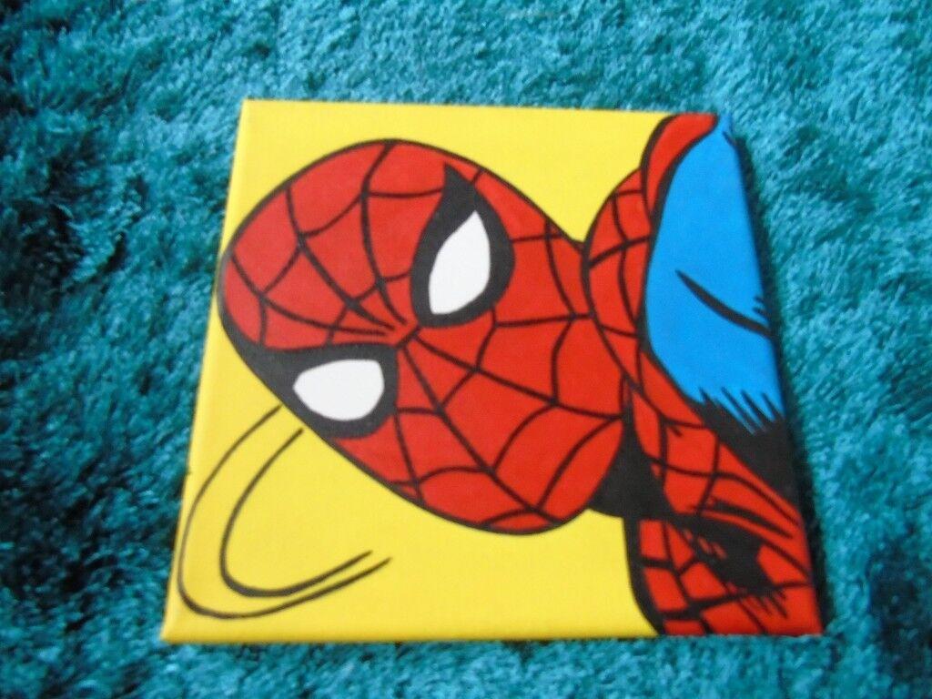 Comic Book Paintings