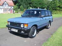 RANGE ROVER V8 CLASSIC EFI 3500CC STUNNING COLLECTORS QUALITY