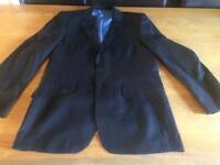 Men's suit jacket worn once 40in