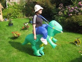 Inflatable Dinosaur fancy dress costume