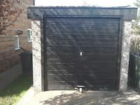 Large 8.5ft x 16ft vertical panel concrete bolt together garage / work shop just £349