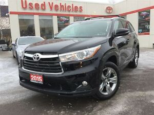 2015 Toyota Highlander Limited, Push Button, Leather,