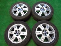 "FORD MONDEO, FOCUS, GALAXY, TRANSIT CONNECT, C-MAX, S-MAX 16"" inch ALLOY WHEELS"