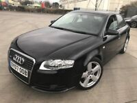 2007 AUDI A4 S LINE TDI 140 BHP 6 SPEED F/S/H/ TOP CONDITION