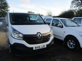 RENAULT TRAFIC 1.6 LL29 BUSINESS DCI DOUBLE CAB 115 BHP (white) 2015