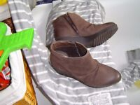 footylove M&S LADIES BOOTS NEW SIZE 6 LEATHER