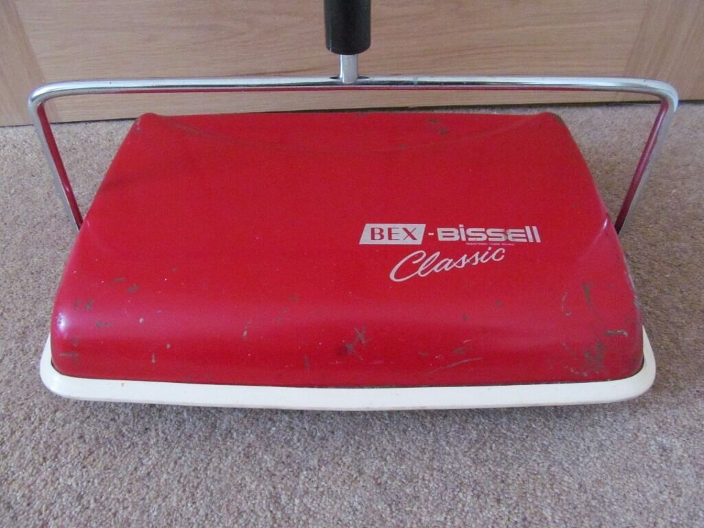 Vintage Bex Bissell Classic Carpet Sweeper 1960 S In