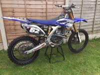 Yamaha yfz 250 factory cosworth Motocross bike 125 150 kxf ktm crf rmz yz