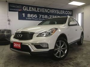 2016 Infiniti QX50 AWD, Leather, Sunroof, Carproof Clean