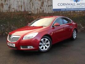 VAUXHALL INSIGNIA 2.0 SRI CDTI 5d 157 BHP NEW MOT AND SERVICE (red) 2010