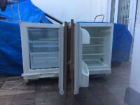 **INTEGRATED UNDERCOUNTER FRIDGE AND FROST FREE FREEZER**FROST FREE**ONLY 2 YEARS OLD**NO OFFERS**