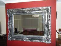 antique mirror.