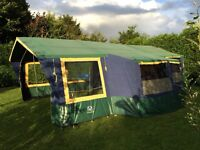 Trailer tent, Suncamp 400 SE. Excellent condition with lots of extras.