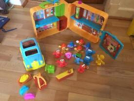 Furchester hotel , car , figures and accessories