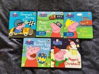 Peppa Pig Board Books x5