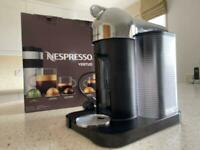 Nespresso Vertuo coffee machine- chrome