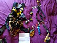 Irata rope access equipment