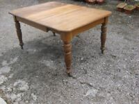 Scottish VictorianWind Out Farmhouse table