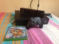 Xbox One 500GB with Kinect Sensor & Just Cause 3 - barely used, bought 8 months ago