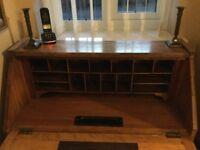 Oak Period desk 1930s