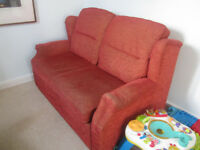 Sofa-bed, small double with storage, £15