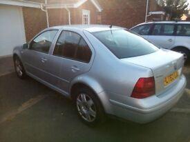 Volkswagen Bora tdi sport 150 bhp in silver spares/repairs only Bargain!!