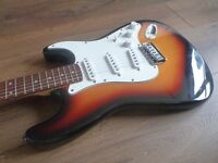Encore Stratocaster (Fret Levelled) (Can deliver for FREE!)