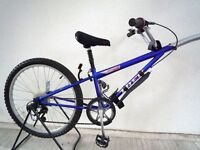 "1717) 24"" TREK TAG ALONG 7 SPEED TRAILER BIKE BOYS GIRLS KIDS BIKE BICYCLE Age 7-10 Height 125-140cm"