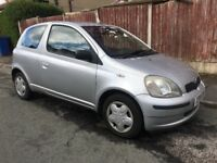 TOYOTA YARIS 1.3 GLS AUTOMATIC, LONG MOT, 2 KEYS, ELECTRICS, LOVELY AUTO