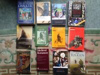 Wide selection of collectible/university recommended English Literature books