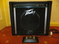 Peavey Bandit 112 TEAL - Solo Series 80w Guitar Amp - Loud or mellow tones - Analog spring reverb