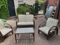 FREE - Garden or conservatory Sofa and Chairs