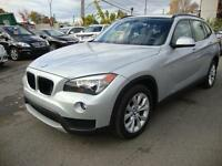 2014 BMW X1 xDrive2.8i Navigation Panoramic Roof GLACIER METALIC