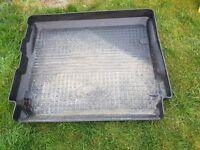 Land Rover black heavy duty boot liner/tidy/tray