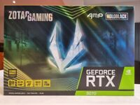Zotac GeForce RTX 3070 8GB AMP Holo Ampere Graphics Card