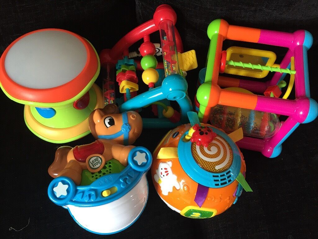 Baby Toy Bundle 6 Months Includes Vtech Crawl Ball
