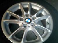 Bmw alloys wheels