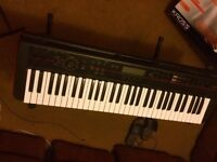 Kong kross 61 keyboard synthesizer piano great condition