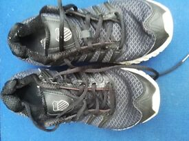 K Swiss Trainers Size 6 1/2 Good Condition