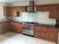 Kitchen for sale, including units, appliances and granite worktop